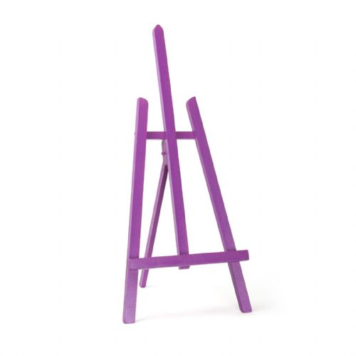 "Violet Colour Easel Essex 24"" - Beech Wood"